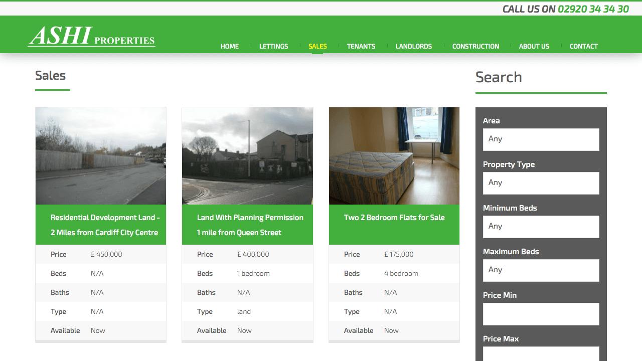 Ashi Properties